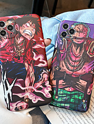cheap -One Piece Phone Case For Apple Back Cover iPhone 13 12 Pro Max 11 SE 2020 X XR XS Max 8 7 Shockproof Dustproof Cartoon TPU