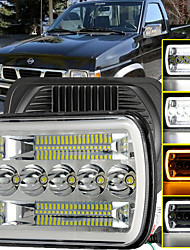 cheap -OTOLAMPARA 150W 7 Inches Tri-row LED Truck Headlight Angel Eye DRL Function Dual Colors Turn Signal Car Headlight for Jeep/ Dodge/ Chevrolet 1pcs