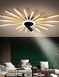 cheap -LED Ceiling Light 100/118/135 cm Geometric Shapes Flush Mount Lights Aluminum Artistic Style Stylish Painted Finishes Artistic LED 220-240V