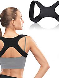 cheap -Posture Corrector for Men and Women Adjustable Upper Back Brace Straightener for Natural Pain Relief Posture Back Support Posture Brace for Neck Shoulder Back Pain Relief Black