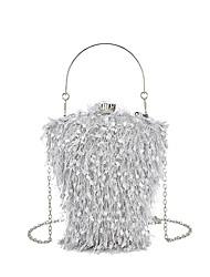 cheap -Women's Bags Evening Bag Party Date 2021 Black Blushing Pink Gold Gray