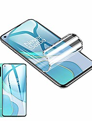 cheap -Phone Screen Protector For OnePlus OnePlus 9 OnePlus 8 Pro OnePlus 8 OnePlus 7T Oneplus 7 Hydrogel Film 2 pcs High Definition (HD) Ultra Thin Scratch Proof Front Screen Protector Phone Accessory