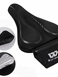 cheap -Bike Seat Saddle Cover / Cushion Comfort Durable Silicone Plastic Cycling Road Bike Mountain Bike MTB Folding Bike Blue Black