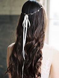economico -Matrimonio Nuziale filo di rame Cerchietti / Copricapo / Accessori per capelli con Perle di imitazione / Metallo 1 PC Matrimonio / Festa / Serata Copricapo