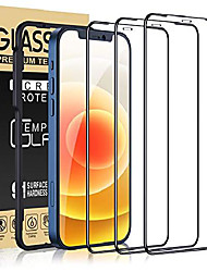 cheap -cocoda bulletproof glass compatible with iphone 12 mini, 3 pieces, 5.4 inch, with mounting frame, 9h hardness, anti-scratch, shell-friendly bulletproof glass screen protector