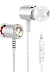 cheap -Langsdom LM400 Wired In-ear Earphone 3.5mm Audio Jack Ergonomic Design Stereo Dual Drivers for Apple Samsung Huawei Xiaomi MI  Everyday Use Traveling Outdoor Mobile Phone