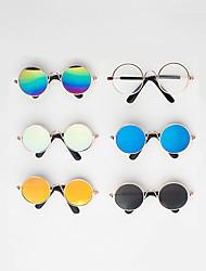 cheap -Dog Cat Glasses Decoration ABS Rainbow Transparent Black Yellow Blue 1pc