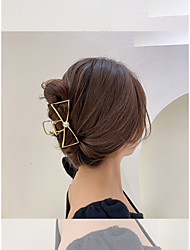 cheap -simple geometric pearl hairpin hairpin korea dongdaemun fashion personality temperament hair accessories net celebrity trend headdress women