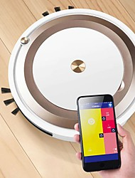 cheap -APP Remote Control Robot Vacuum Cleaner Sweep and Wet Mopping Disinfection For Hard Floors&Carpet Run 90mins Automatically Charg