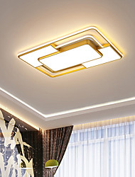 cheap -LED Ceiling Light Acrylic Ceiling Lamp Golden LED Indoor Ceiling Lamp Simple Modern Ceiling Lamp is Suitable for Bedroom Living Room Study and Dining Room Ceiling Lighting AC220V