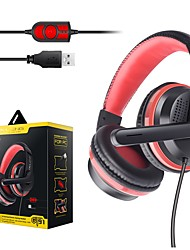 cheap -OVLENG GT91 Gaming Headset USB 3.5mm Audio Jack PS4 PS5 XBOX Ergonomic Design Retractable Stereo for Apple Samsung Huawei Xiaomi MI  PC Computer Gaming