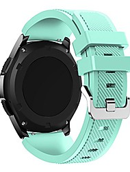 cheap -Smart watch band  gear s3 frontier/classic watch band 22mm silicone replacement sport wrist strap bracelet compatible with samsung gear s3 frontier /s3 classic/galaxy watch 46mm /moto 360 2nd gen 46mm