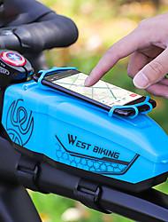 cheap -1 L Bike Frame Bag Top Tube Waterproof Portable Durable Bike Bag EVA Bicycle Bag Cycle Bag Outdoor Exercise Bike / Bicycle