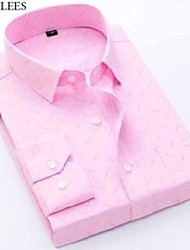 cheap -pink bamboo fiber shirt men spring button down cotton dress shirts mens fashion easy care formal business chemise homme 210522