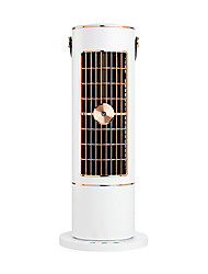 cheap -Villestar 2021 charging Fan Desktop Spray Humidification Water Tower Fan Cooling Air Conditioning Turbine Leafless Portable