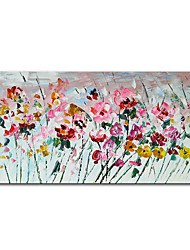 cheap -Oil Painting Handmade Hand Painted Wall Art Mintura Knife Flowes Home Decoration Decor Rolled Canvas No Frame Unstretched