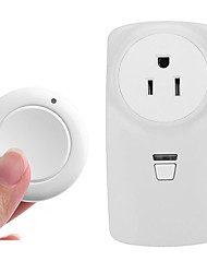 cheap -US standard wireless remote control socket / AC 85V-250V wide voltage use / 110V socket / US SOCKET / can be manually opened and closed 433M