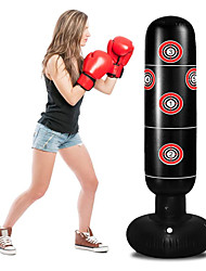 cheap -Punching Bag for Kids Inflatable Kids Punching Bag with Stand for Adults 63 Inch Freestanding Punching Bag for Practice Karate Taekwondo MMA Kids Adults