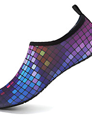 cheap -Men's Unisex Water Shoes / Water Booties & Socks Sporty Look 3D Print Printed Shoes Sporty Casual Beach Athletic Outdoor Water Shoes Upstream Shoes Synthetics Non-slipping Wear Proof Booties / Ankle