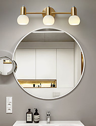 cheap -Wall Light Glass Modern Nordic Style Flush Mount Wall Lights Living Room Kitchen Copper Wall Light