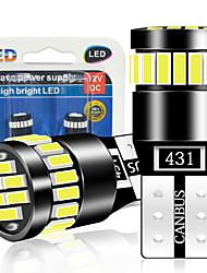 cheap -2PCS T10 W5W LED Canbus Bulbs 168 194 led Clearance Side Marker Lights For Mercedes Benz W211 W221 W220 W163 W164 W203 C E SLK