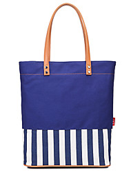 cheap -Women's Bags Canvas Tote Solid Color Daily Going out Canvas Bag Tote Handbags White Blue Fuchsia