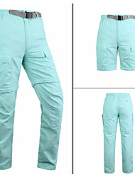 cheap -Women's Hiking Cargo Pants Removable Ventilation Quick Dry Wearproof Summer Solid Colored Pants / Trousers for Fishing Hiking Camping Red Army Green Khaki S M L XL XXL