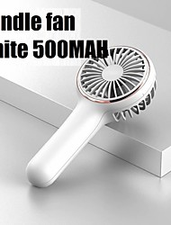 cheap -Portable Mini Fan Electric USB Rechargeable Small Handheld Battery Cooling Air Conditioner for Outdoor Home Office for Children