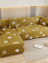 cheap -Apple Tree Sofa Cover 1-Piece Couch Cover Fit for 1-4 Seater L-shape Couch Soft Stretch Slipcover Spandex Jacquard Fabric Easy to Install(1 Free Cushion Cover)