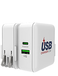 cheap -65 W Output Power USB Fast Charger USB Charger QC 3.0 Fast Charge For Universal