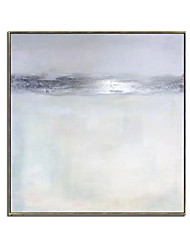 cheap -Oil Painting Handmade Hand Painted Wall Art Abstract Minimalist  White Modern Home Decoration Decor Rolled Canvas No Frame Unstretched