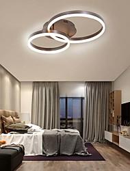 cheap -Modern Ceiling Light 2 Led Flush Mount Aluminium Acrylic for Living Bed Room Kitchen Lighting