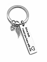 cheap -drive safe keychain drive safe i need you here with me keychain for boyfriend (i-1 design)