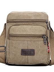 cheap -Boys' Bags Canvas Kids' Bag Zipper Solid Color Outdoor 2021 Black Khaki Green Dark Blue