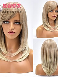 cheap -halloweencostumes amazon cross-border new products european and american wigs ladies short blond hair chemical fiber african wig headgear manufacturers wholesale