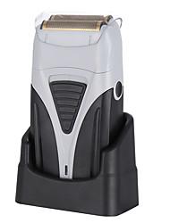 cheap -Reciprocating Electric Shaver Shaving Head Machine USB Pusher Dual Net Powerful Portable Men's Shaver