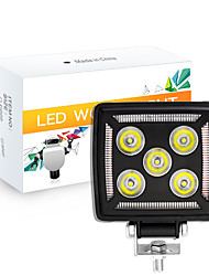 cheap -OTOLAMPARA High Quality 87W Multi-colors Warning LED Work Light Multi-functional Import Light Source Square Work Spotlight IP67 Waterproof LED Work Light 1pcs