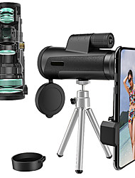 cheap -12 X 50 mm Monocular Lenses Waterproof Adjustable Lightweight Handheld 288/1000 m Multi-coated BAK4 Camping / Hiking Performance Outdoor Exercise