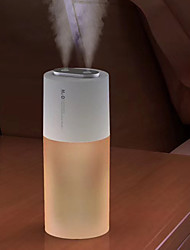 cheap -Wireless Air Humidifier Aroma Diffuser 2000mAh Battery Rechargeable Essential Oil Diffuser Double Nozzle Mist Maker Humidifier