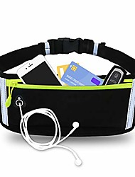 cheap -pacjoy running belt, fanny pack water resistant waist pack for women men, workout belt sports waist pack adjustable running pouch phone holder accessories for iphone samsung in walking cycling gym