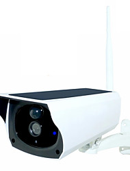 cheap -1080P Solar Power IP Camera 2MP Wireless Wi-fi Security Surveillance Cam Waterproof Outdoor CCTV Camera IR Night Vision