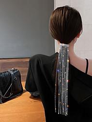 cheap -heavy industry bright flashing diamond tassel headwear 2021 new trendy korean version ins female design fashion hair accessories