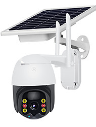 cheap -Wifi Camera Solar Powered PTZ Camera Rechargeable Battery Outdoor Security Surveillance Camera