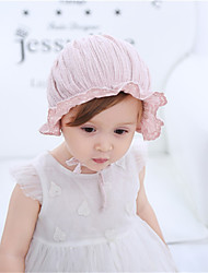 cheap -1pcs Toddler / Baby Girls' Sweet Daily Wear Solid Colored Fairytale Theme Polyester Hair Accessories Blushing Pink / White One-Size