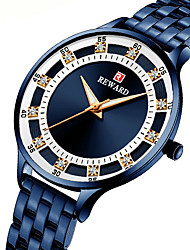 cheap -Reward fashion steel band quartz diamond ladies watch waterproof small daisy watch