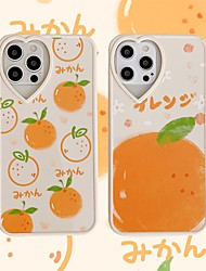 cheap -Phone Case For Apple Back Cover iPhone 12 Pro Max 11 SE 2020 X XR XS Max 8 7 Shockproof Dustproof Food Geometric Pattern TPU