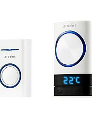 cheap -Temperature Remind Smart Wireless Door Bell Doorbell Digital Remote Control 45 Songs Polyphonic Ringtones