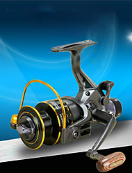 cheap -Fishing Reel Spinning Reel 5.0:1 5.2:1 Gear Ratio 10+1 Ball Bearings Ultra Smooth for Freshwater and Saltwater / Sea Fishing / Carp Fishing / Powerful