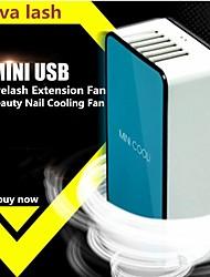 cheap -New Mini Electric Bladeless Fan Portable USB Charging Mini Handheld Fan Eyelash Extension Fan Tool Beauty Nail Cooling Fan Shop