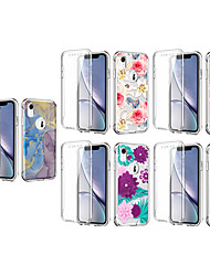 cheap -Phone Case For Apple Back Cover iPhone 11 iPhone XR Shockproof Dustproof Pattern Flower TPU